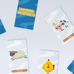 Thums Flash Cards animales